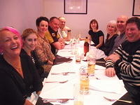 Meal out at the Indiya in Bedford Jan 2013
