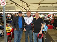 John & Dickie with Clive Padgett